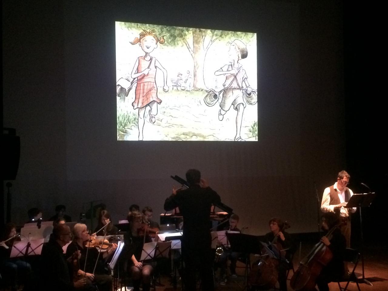 Concert autour d'une bande dessinée